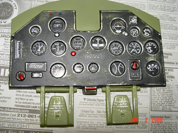 P-47 Cockpit Sample Photos  P47 Cockpit